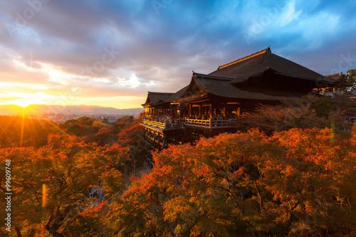 Foto op Plexiglas Japan Kiyomizu-dera Temple