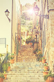 Street in Valldemossa village, Mallorca