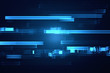 Futuristic lines data stream abstract background