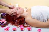 massaggio alla testa in centro benessere