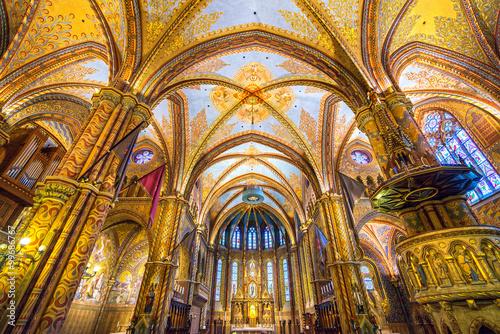 Papiers peints Budapest Budapest, Mathias Cathedral, Hungary
