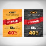 Big Sale flyer template