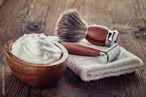Shaving accessories Poster