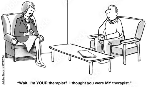 Confused About Who is the Therapist