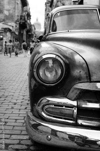 Poszter Oldtimer auf Kuba