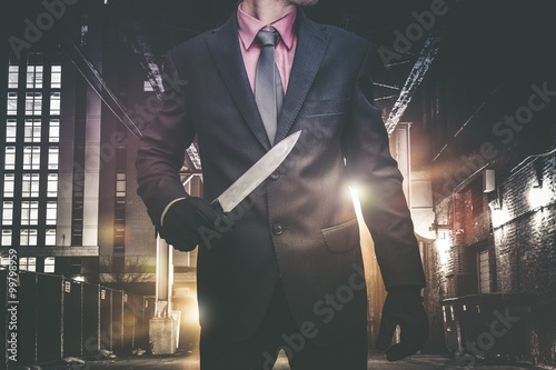 Psychopathic Urban Killer Poster