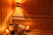Wellness und Spa in der Sauna - 99820945