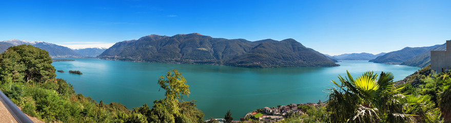 Panoramic of Lake Maggiore © alexandre zveiger