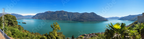 Panoramic of Lake Maggiore