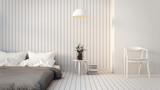 Fototapety Modern & Loft Bedroom / 3D render image