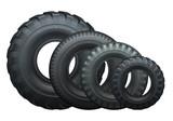 Fototapety Truck tires