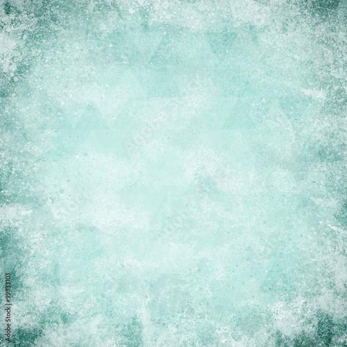 Fototapeta abstract blue background light color vintage grunge background t