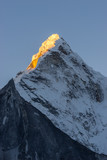 Ama Dablam mountain peak in the morning