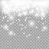 Fototapety Lights on transparent background. Vector eps10