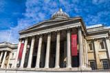 National Gallery in Trafalgar Square, London . UK