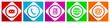 iinternet vector flat icons set