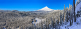 Beautiful Winter Vista of Mount Hood in Oregon, USA. - 99889702