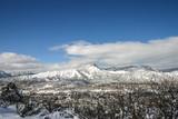 Durango Colorado snowy mountains