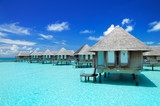 Maldivian water bungalows - 99947960