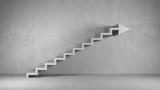 Business Hintergrund mit Treppe als Pfeil - 99954326