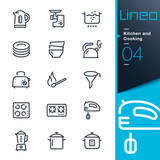 Lineo - Kitchen and Cooking line icons