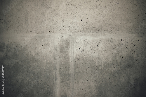 Poster Betonbehang Industrial cement concrete wall texture