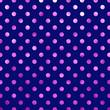 Hot Pink Violet Dark Blue Metallic Foil Polka Dot Pattern Swiss