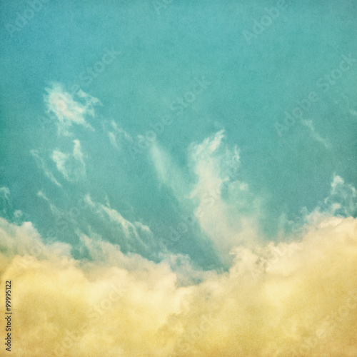 Fototapeta Vintage Fog and Clouds