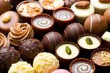 Fototapety variety chocolate pralines