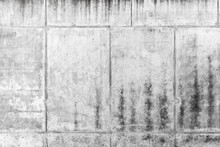 Ancien rugueux mur de béton, texture gris de fond