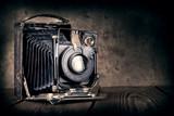 Fototapety Old film camera
