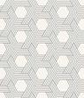 Materiał do szycia seamless striped geometric weaving pattern of hexagons.