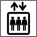 ピクトグラム エレベーター
