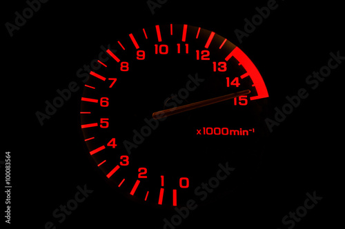 automobile tachometer even faster Poster