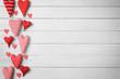 Obrazy na płótnie, fototapety, zdjęcia, fotoobrazy drukowane : Hintergrund zum Valentinstag