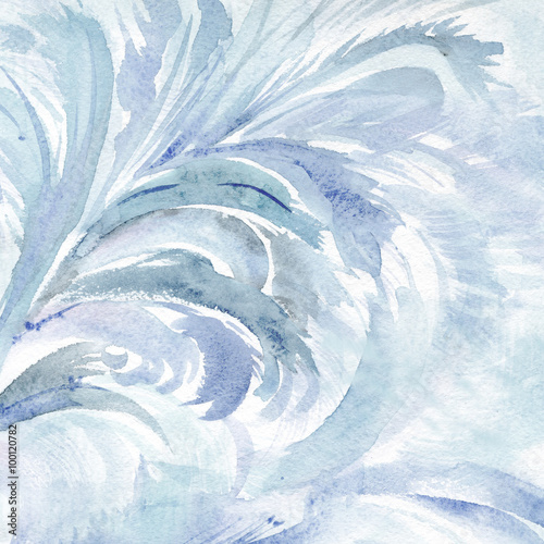 Watercolor frost - 100120782