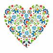 ludowe serce z Kaszub