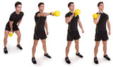 Kettle bell, Uni Swinging Clean, Exercise