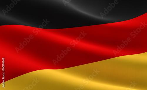 Naklejka Flag of Germany