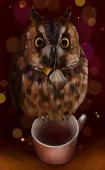 Чаепитие с совой