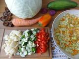 zucchini cabbage stew