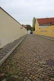 PRAGUE, CZECH REPUBLIC - APRIL 29, 2013: Old street of Hradcany in Prague