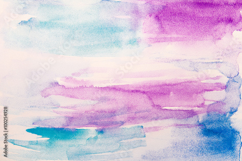 Abstract watercolor background - 100254928