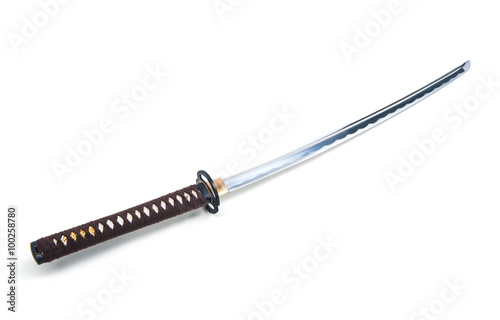 Poster Japanese sword