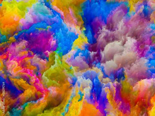 Zdjęcia na płótnie, fototapety na wymiar, obrazy na ścianę : Door to Colors