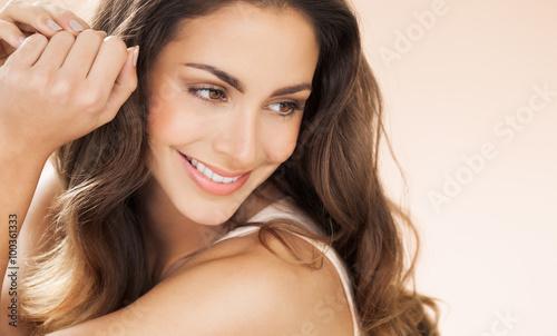 Foto Murales Happy Beautiful Woman