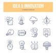 Idea & Innovation Doodle Icons