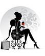 Elegant Lady - Red Wine
