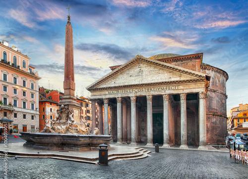 Poster Rome - Pantheon, nobody