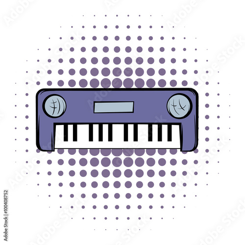 Synthesizer comics icon  © juliars